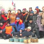 Трубетчинские Зимние дворовые игры 2016 (ВИДЕО)