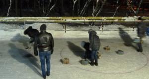 Липецкие школьники одерживают первую победу по керлингу на Зимней Двориаде