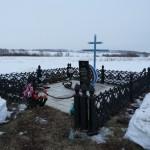 Памятник сожженым советским военнопленным в Ивановке Ожогинского сельсовета Воловщины