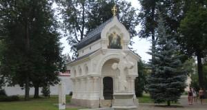 Мемориал князя Пожарского в Спас-Евфимиевском монастыре в Суздале