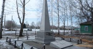 Памятник в Пиково Чаплыгинского района односельчанам, павшим в годы Великой Отечественной войны