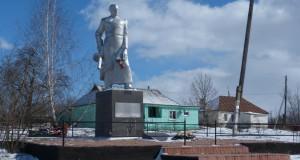 Братская могила советских воинов в Денисово Измалковского района