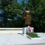 Памятник в Свишнях Долгоруковского района односельчанам, погибшим в годы Великой Отечественной войны