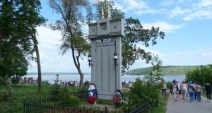 Памятник павшим в годы Великой Отечественной войны  землякам в Свияжске