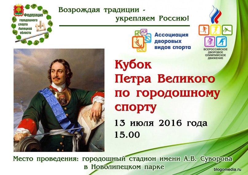 Кубок Петра Великого по городошному спорту пройдет в Липецке на городошном стадионе им. Суворова