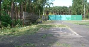 В Липецке продолжается восстановление городошного стадиона им. А.В. Суворова