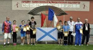 В Санкт-Петербурге прошли городошные баталии в честь Дня ВМФ