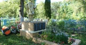 Братская могила советских воинов в с. Братовщина Долгоруковского района