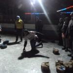 В первом межрегиональном матче по дворовому керлингу победила сборная Рязани