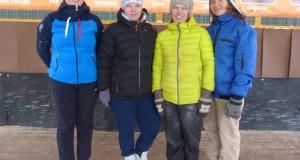 Липецкие городошники успешно выступают в зимнем чемпионате Москвы по городкам