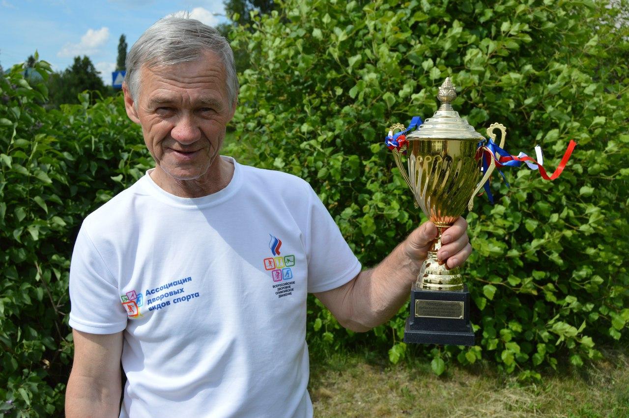Вячеслав Толчеев стал лауреатом липецкой премии «За вклад в развитие физической культуры и спорта»