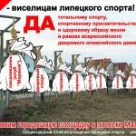 По факту виселиц на городошной площадке в Липецке подано заявление прокурору Липецкой области