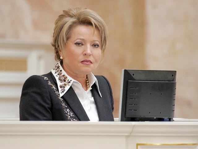 Валентина Матвиенко: «О коллекторских агентствах»