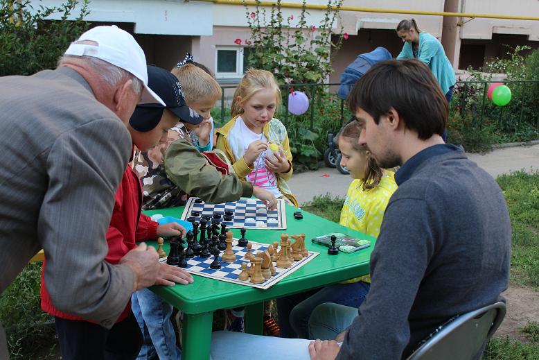 Рязанская Дворовая Лига шахмат: в поисках нового Андрейкина