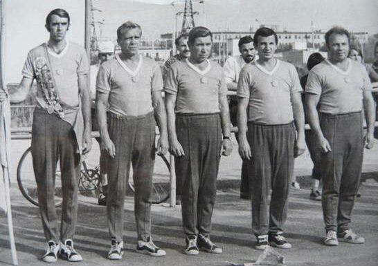 Из истории городков: командный чемпионат СССР 1974 года по городошному спорту